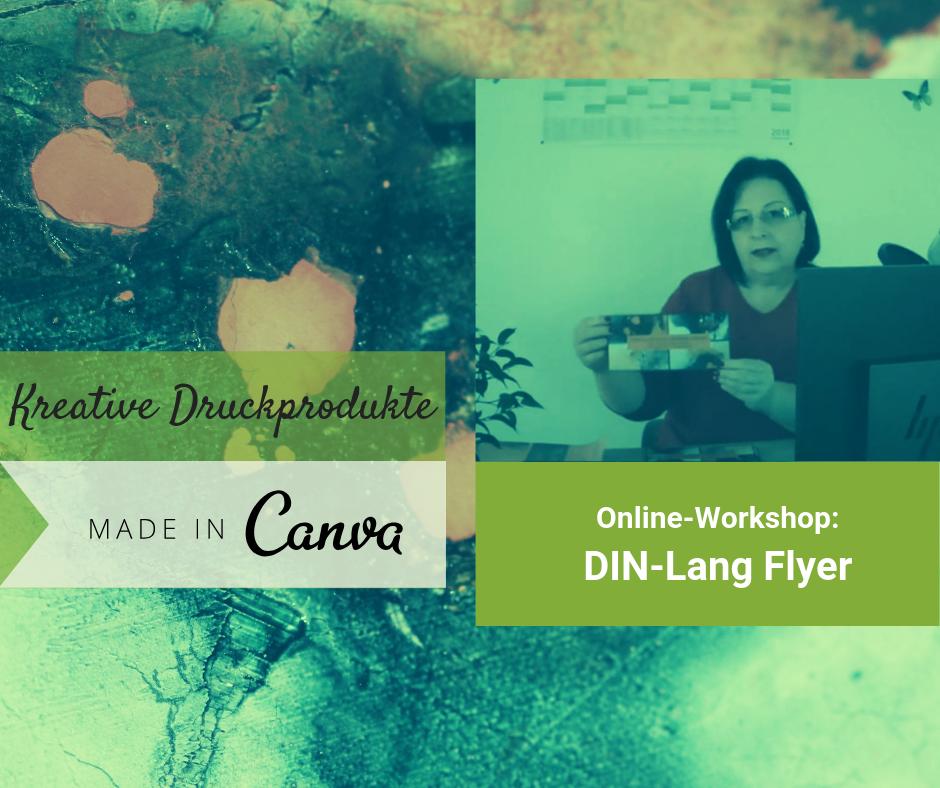 Workshop Din Lang Flyer Erstellen Sabine Walters Autor